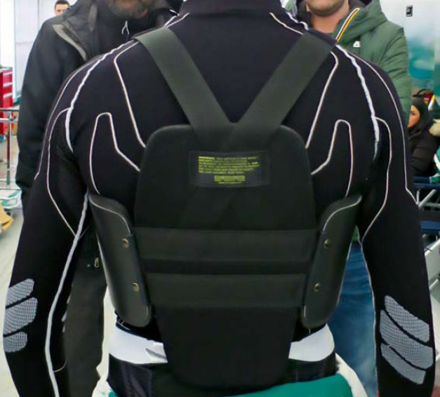 FIA Rib & Chest protector back