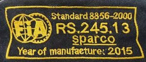 Image result for FIA 8856-2000 homologation label